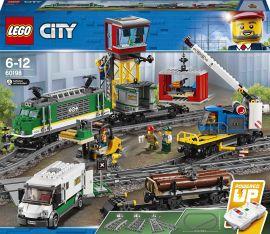 Акция на Конструктор LEGO City Грузовой поезд (60198) от Будинок іграшок