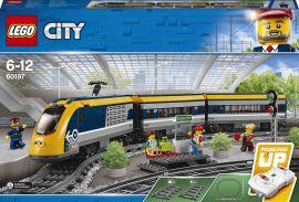 Акция на Конструктор LEGO City Пассажирский поезд (60197) от Будинок іграшок