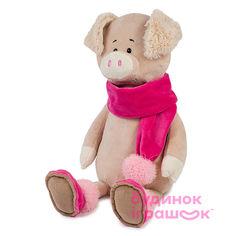 Акция на Мягкая игрушка Maxi Toys Свинка Ася 33 см (2024036) от Будинок іграшок