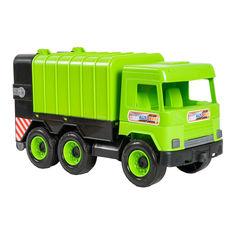 Акция на Мусоровоз Tigres Middle truck зеленый в коробке (39484) от Будинок іграшок