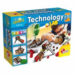 Набор Lisciani Hi-Tech Лаборатория исторических машин (61310) от Будинок іграшок