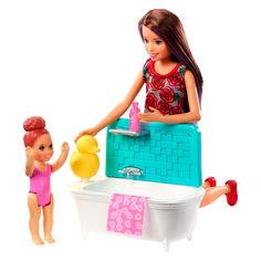 Акция на Набор Barbie Skipper babysitters inc Ванная комната (FHY97/FXH05) от Будинок іграшок