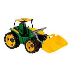 Акция на Машинка LENA Трактор с грейдером 62 см (2057) от Будинок іграшок