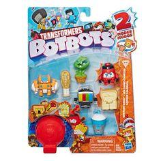 Акция на Игрушка-трансформер Transformers БотБотс Банда хулиганы (E3494/E4143) от Будинок іграшок