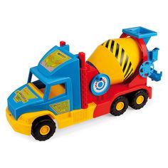 Акция на Игрушка Бетоновоз Wader Super Truck (36590) от Будинок іграшок