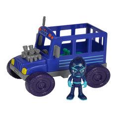 Акция на Набор игрушек PJ Masks Автобус Ночного Ниндзя (33043) от Будинок іграшок