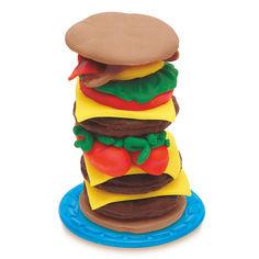 Акция на Набор для лепки Play-Doh Бургер Барбекю (B5521) от Будинок іграшок