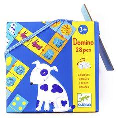 Акция на Домино DJECO Цвета животных (DJ08111) от Будинок іграшок