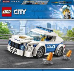 Акция на Конструктор LEGO City Полицейский патрульный автомобиль (60239) от Будинок іграшок