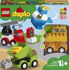 Акция на Конструктор LEGO Duplo Мои первые машинки (10886) от Будинок іграшок