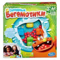 Акция на Настольная игра Hasbro Games Голодные бегемотики (98936) от Будинок іграшок