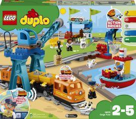 Акция на Конструктор LEGO Duplo Town Грузовой поезд (10875) от Будинок іграшок