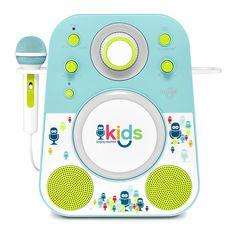 Акустическая система Singing Machine голубая (SMK250BG) от Будинок іграшок