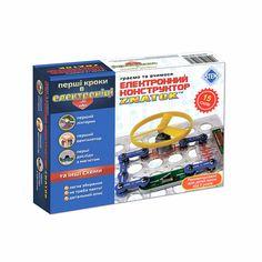 Акция на Набор для опытов Znatok Первые шаги в электронике A 15 схем (REW-K060) от Будинок іграшок