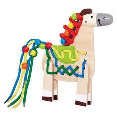 Акция на Развивающая игрушка Hape Пони (Е1016) от Будинок іграшок