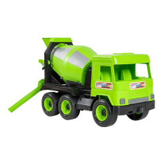 Акция на Машинка Tigres Middle truck Бетономешалка зеленая в коробке (39485) от Будинок іграшок