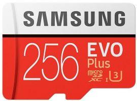 Карта памяти Samsung microSDXC 256GB EVO Plus UHS-I (MB-MC256GA/RU) от Територія твоєї техніки