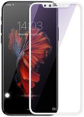 Акция на Захисне скло Mocolo Full Cover iPhone X White от Територія твоєї техніки