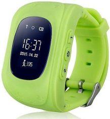 Акция на Дитячий розумний годинник з GPS-трекером Smart Baby Watch GW300 (Q50) Green от Територія твоєї техніки