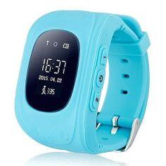 Акция на Дитячий розумний годинник з GPS-трекером Smart Baby Watch GW300 (Q50) Blue от Територія твоєї техніки