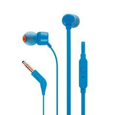 Акция на Навушники JBL T110 (JBLT110BLU) Blue от Територія твоєї техніки
