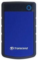 Акция на Жорсткий диск Transcend StoreJet 25H3P 4TB 5400rpm 8MB TS4TSJ25H3B 2.5 USB 3.0 External Blue от Територія твоєї техніки