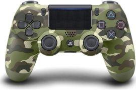 Беспроводной геймпад Sony Dualshock V2 Bluetooth PS4 Green Cammo от Територія твоєї техніки