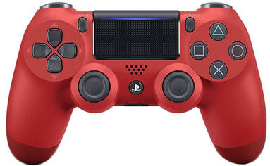 Беспроводной геймпад Sony Dualshock V2 Bluetooth PS4 Red от Територія твоєї техніки